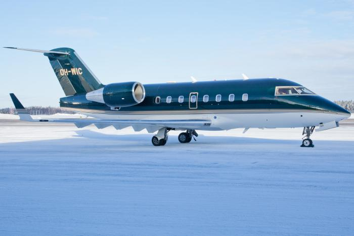 Challenger 604, OH-WIC